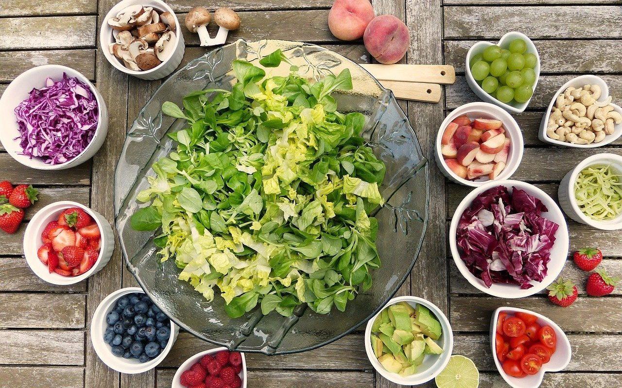 fruits legumes vegans